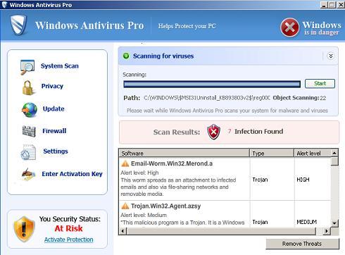 WindowsAntivirusPro