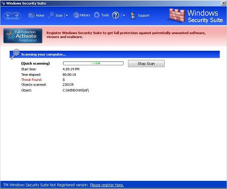 WindowsSecuritySuite GUI