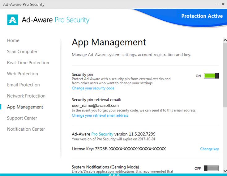 ad aware total security serial key download